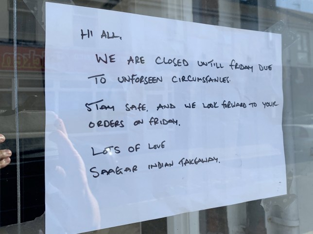 A pub, a vape bar and an Indian restaurant were forced to close - over claims one man with Covid went out boozing on Super Saturday. See SWNS story SWBRpubs. Locals says the mystery drinker visited The Lighthouse Inn before heading to Vape Escape during his bar crawl. Both later had to close and test staff after the man later tested positive for Covid-19. A driver from Saagar Indian had also been in the pub in Burnham-on-Sea, Somerset, and the restaurant closed as a precaution. The vape shop was able to reopen after performing a deep clean and testing staff, but the pub remains closed while it waits for test results.