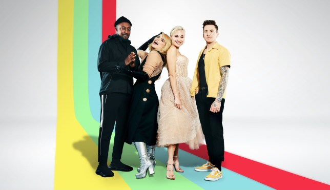 Will.I.Am, Paloma Faith, Pixie Lott, Danny Jones