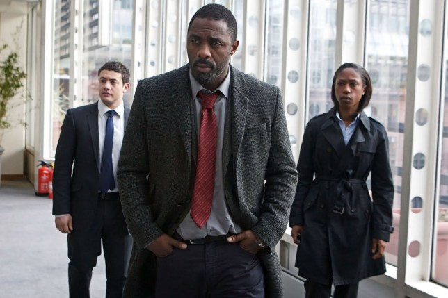 Idris Elba says Luther film is coming Picture: BBC METROGRAB