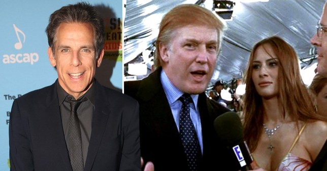 Ben Stiller responds to calls for Trump to be axed from Zoolander