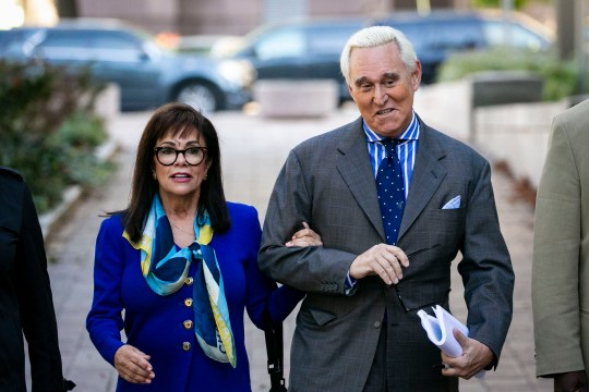 Roger Stone and wife Nydia