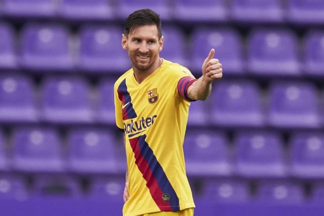 Lionel Messi has broken the record for the most assists in a single La Liga season