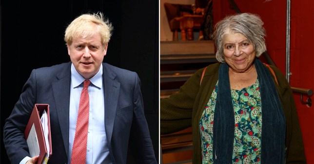 Miriam Margolyes has no regrets about Boris Johnson comments