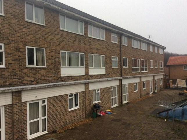 Pictured: The block of flats in Hythe, near Southampton, Hants A 26 year old woman was today arrested on suspicion of murdering a one month old baby boy. The woman is being quizzed alongside a 42-year-old man who has been arrested on suspicion of allowing the death of a child. The six-week-old baby was found 'seriously unwell' on February 2 last year at a flat in Hythe, near Southampton, Hants. SEE OUR COPY FOR DETAILS. ? Daily Echo/Solent News & Photo Agency UK +44 (0) 2380 458800