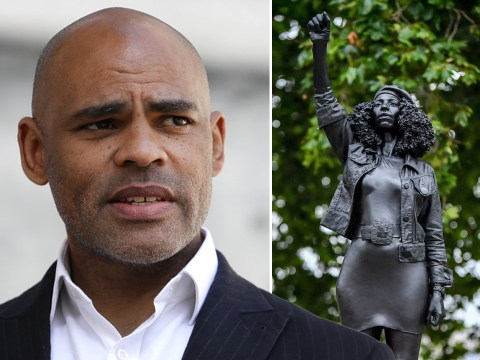 Bristol mayor says BLM protester sculpture must be removed from Edward Colston plinth