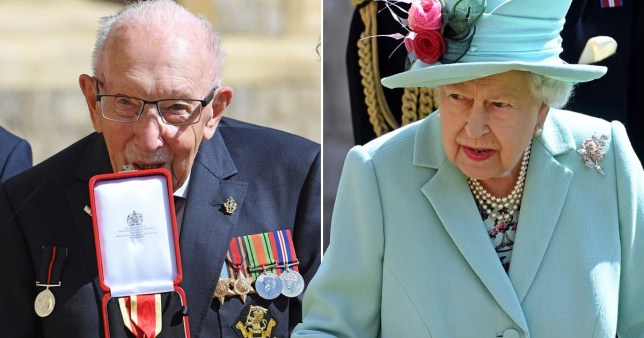 Sir Tom 'turned down tea with the Queen'