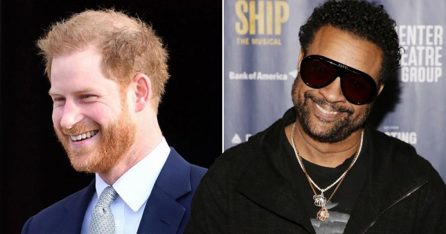 Prince Harry sang It Wasn't Me to Shaggy