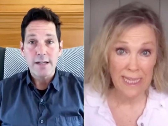 Celebs inc Paul Rudd and Catherone O'Hara team up to debunk coronavirus conspiracies
