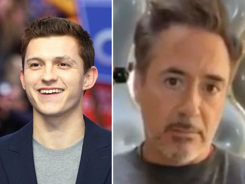 Avengers' Robert Downey Jr promises hero six-year-old who saved sister from dog attack 'something special' as Tom Holland invites him on set