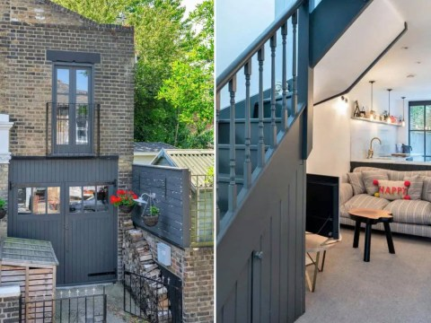 London house narrower than a bus on the market for £700,000