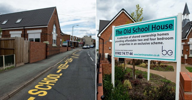 School road marking repainted - 10yrs aftrer lessons stopped