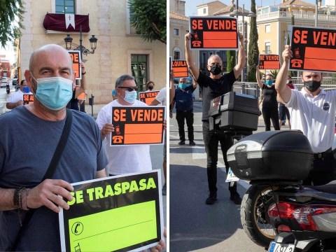 Spanish tourist town on lockdown after coronavirus outbreak at bar