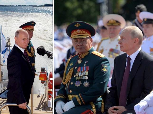 La Russie fait défiler sa marine pour montrer sa `` puissance croissante '', avec 40 nouveaux navires promis