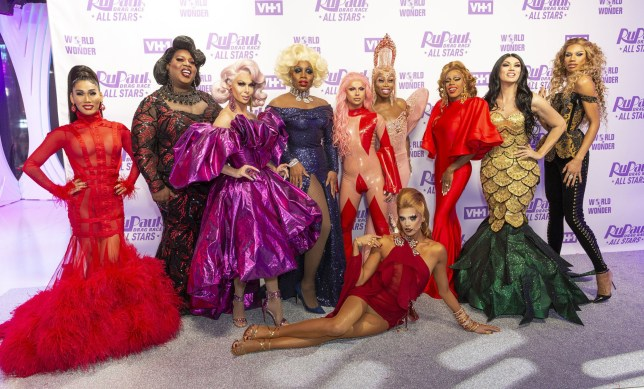 Mandatory Credit: Photo by Lev Radin/Pacific Press via ZUMA Wire/REX (10015218am) Contestants Queens of RuPaul's Drag Race All Stars, New York, USA - 05 Dec 2018