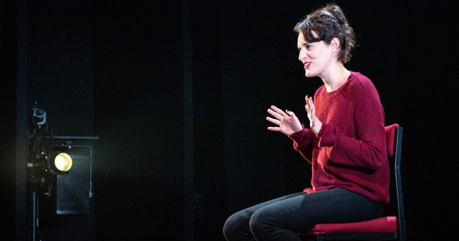 Undated handout photo issued by The Corner Shop of Phoebe Waller-Bridge starring in the one woman show, Fleabag, at Wyndham's Theatre in London. PRESS ASSOCIATION Photo. Issue date: Wednesday August 28, 2019. See PA story SHOWBIZ Fleabag. Photo credit should read: Matt Humphrey/The Corner Shop/PA WireNOTE TO EDITORS: This handout photo may only be used in for editorial reporting purposes for the contemporaneous illustration of events, things or the people in the image or facts mentioned in the caption. Reuse of the picture may require further permission from the copyright holder.