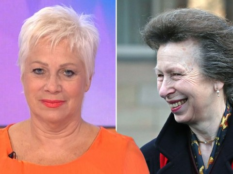 Princess Anne gets some questionable hair advice from Loose Women's Denise Welch