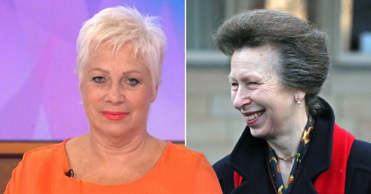 Princess Anne gets questionable hair advice from Denise Welch Pictures: Rex/PA