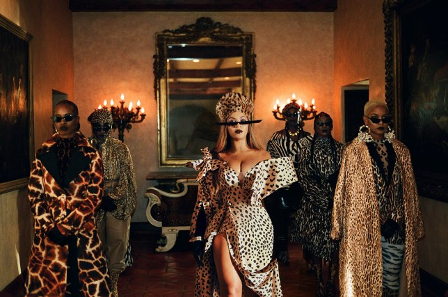 Beyonce from Black is King