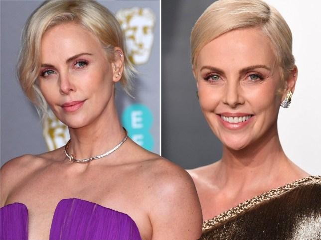 Charlize Theron is dating herself