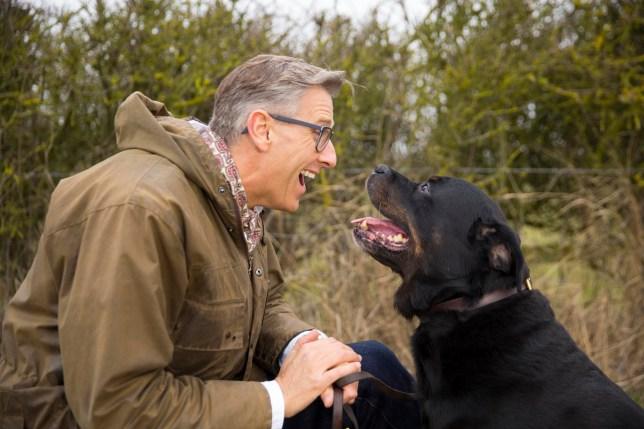 Television programme : Dogs behaving badly. Graeme Hall