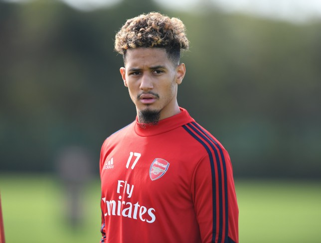 William Saliba is desperate to play in the French Cup final with Saint-Etienne