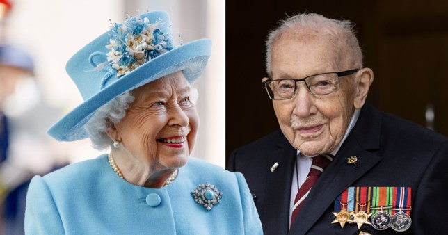 Captain Tom Moore will receive a knighthood from the Queen in person on Friday