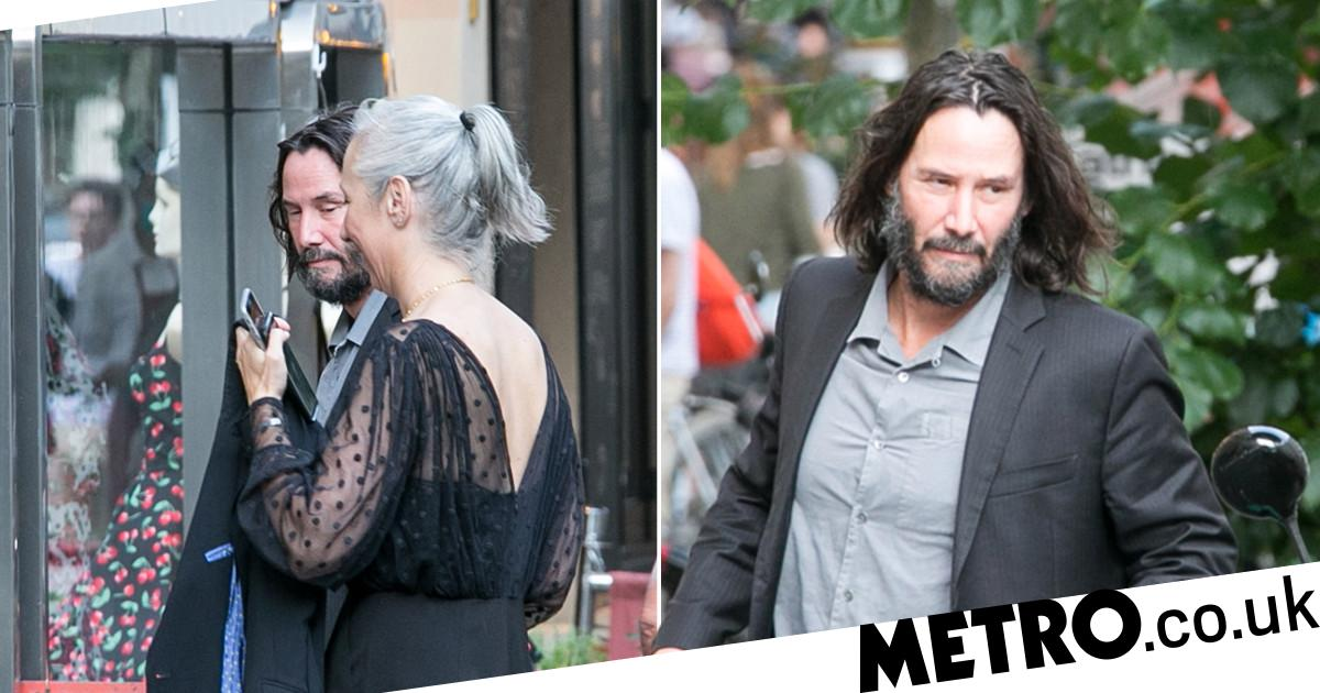 Keanu Reeves met up with his Matrix 4 co-stars for dinner this weekend and brought along a very special guest, with his girlfriend Alexandra Grant joi
