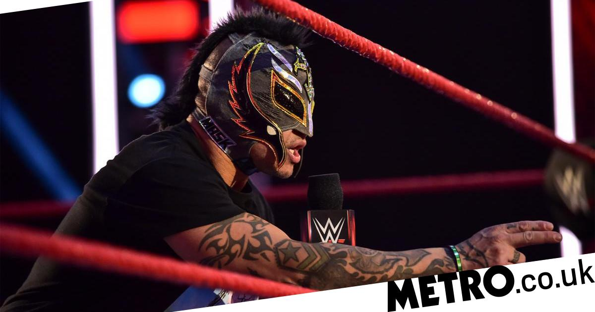 WWE's Rey Mysterio posts unmasked photo with bloody wound ...