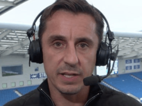 Gary Neville suggests new position for Scott McTominay during Manchester United's win over Brighton