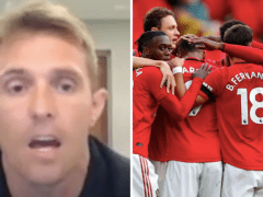 Darren Fletcher picks out Man Utd's 'most surprising player' and rates top-four chances