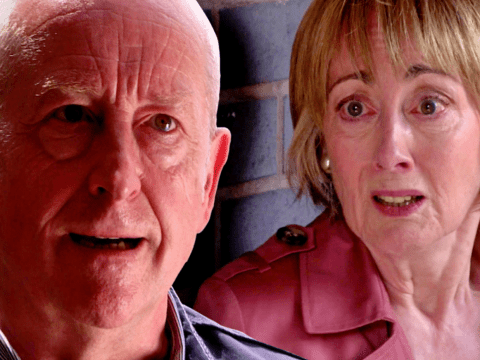 Where is Elaine in Coronation Street and has Geoff killed her?