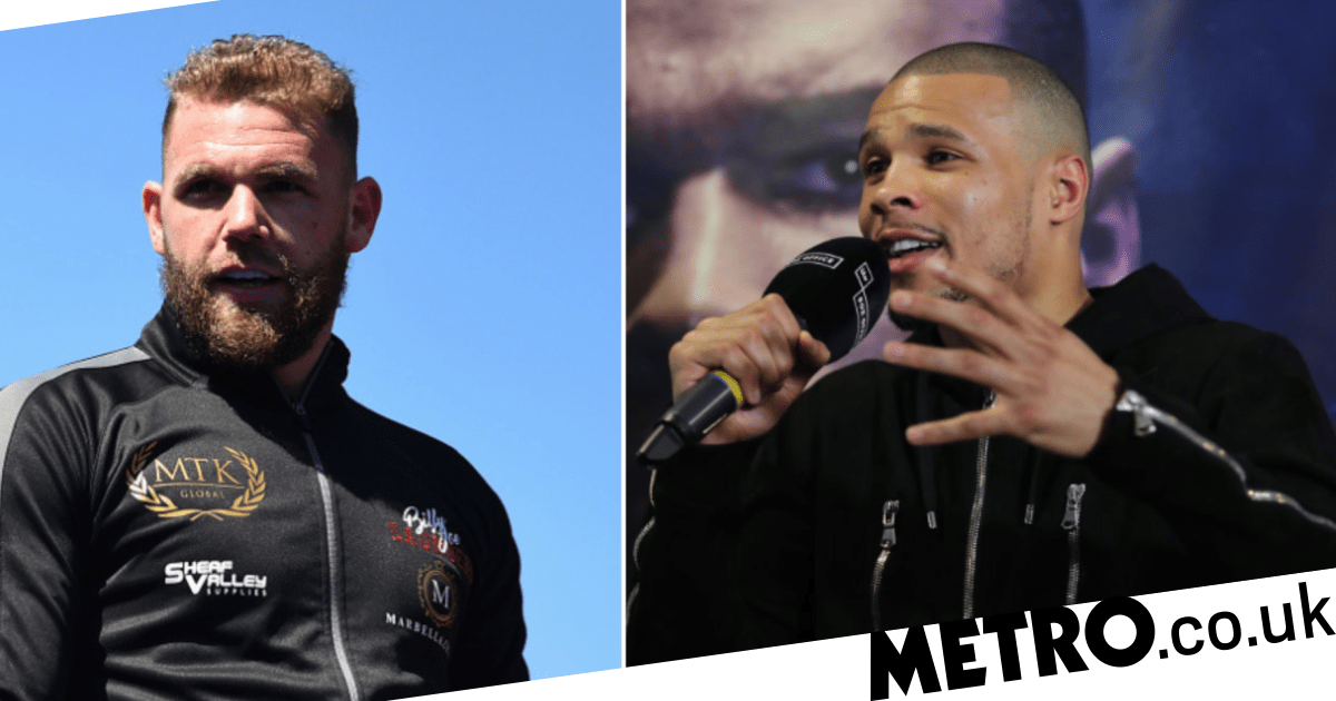 Chris Eubank Jr blasts 'bottle job' Billy Joe Saunders and brands him a drugs cheat - metro