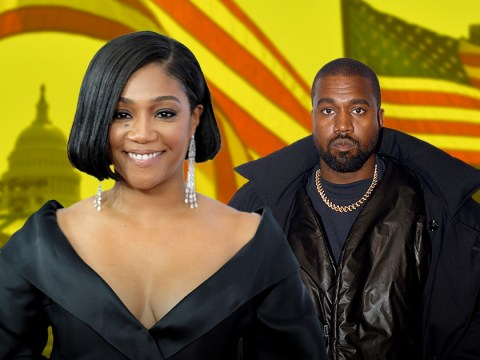 Tiffany Haddish rinses Kanye West by announcing she's running for president too