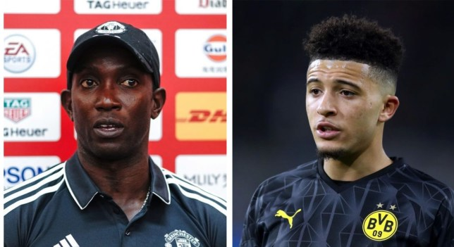 Dwight Yorke wants to see Jadon Sancho at Manchester United