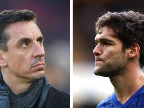Gary Neville blasts Marcos Alonso for 'costing Chelsea the game' at West Ham