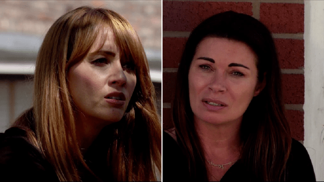 Maria and Carla in Coronation Street