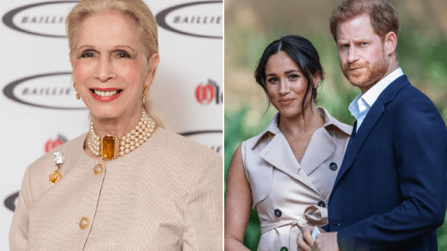 Lady Colin Campbell Meghan Markle Prince Harry