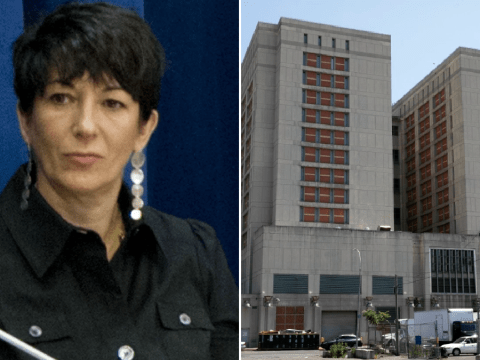 Ghislaine Maxwell given paper prison clothes over fears she'll hang herself like Epstein