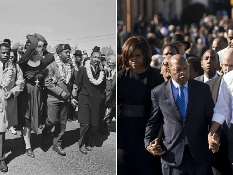 A history of Rep. John Lewis' activism: From meeting with Malcolm X to marching to Selma