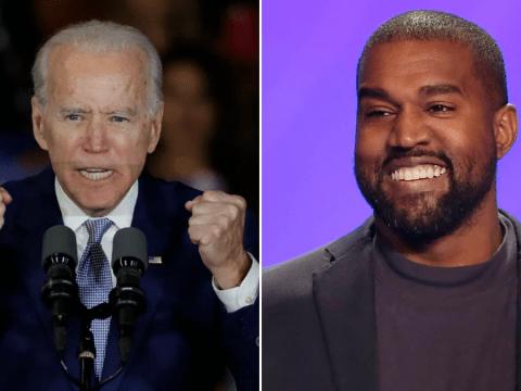 Kanye West claims he'll 'beat Joe Biden' as he confirms Presidential bid still on after Twitter tirade