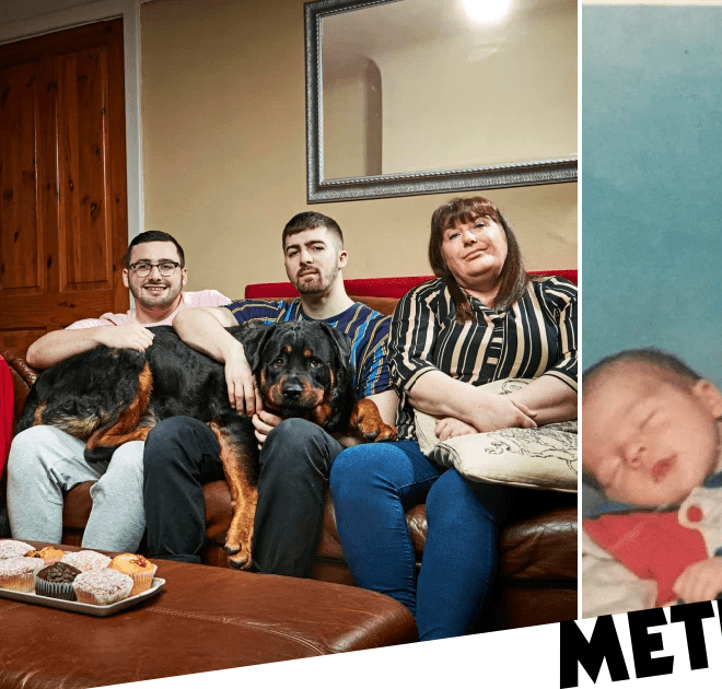 Gogglebox star Tom Malone Jr shares epic throwback snap of him as a baby