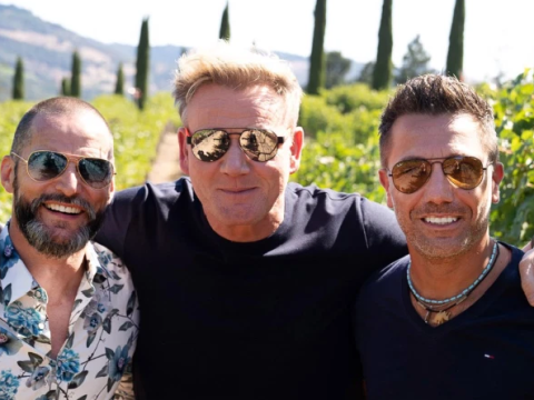 Fred Sirieix confirms Gino D'Acampo and Gordon Ramsay are planning his stag and we want an invite