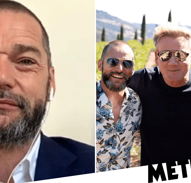 Fred Sirieix has got Gino D'Acampo and Gordon Ramsay planning his stag