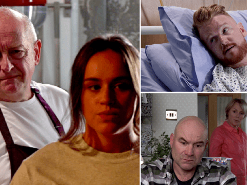 Coronation Street spoilers: 32 new images reveals Geoff's deadly revenge, Gary's exit drama and Leanne's heartache