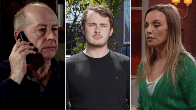 Geoff in Coronation Street, Max Bowden in EastEnders: Secrets From The Square and Andrea Tate in Emmerdale