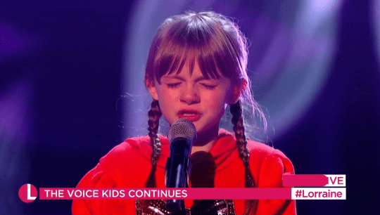 The Voice Kids: Kerry Katona Close To Tears As Daughter