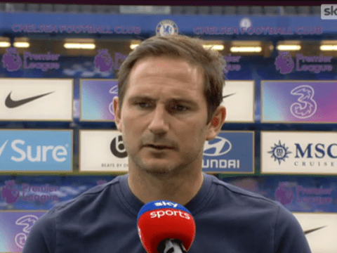 Frank Lampard explains decision to drop Chelsea defenders Marcos Alonso and Antonio Rudiger for Watford clash
