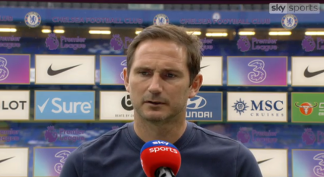 Frank Lampard has made four changes for Chelsea's clash against Watford