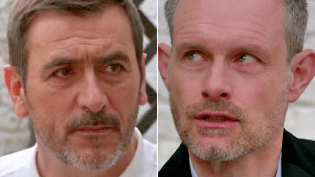 Nick and Peter in Coronation Street