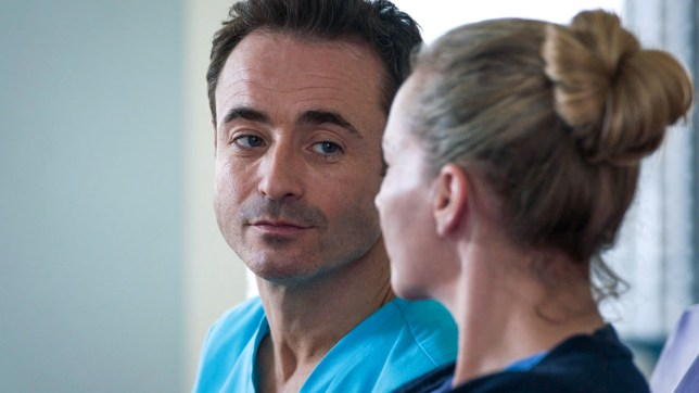 Raf and Essie in Holby City